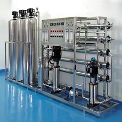 循环水除盐设备,工业纯水机软水机械设备安装,工业去离子水处理图片