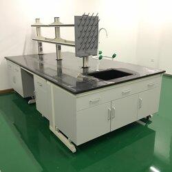 安東尼全鋼實驗臺化學臺實驗室鋼木實驗邊臺操作臺圖片