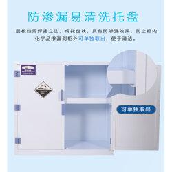 安東尼實驗室PP酸堿柜強酸堿耐腐蝕器皿柜PP藥品柜圖片