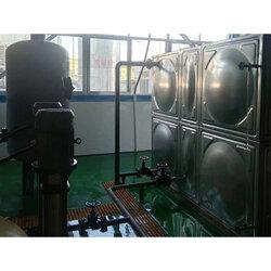 平凉不锈钢水箱加工-合理的供水设备图片