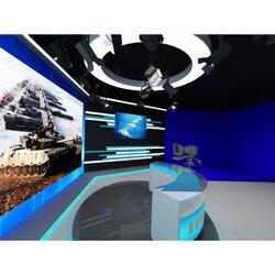 虚拟演播室如何∑搭建 高清虚拟演播室系统图片