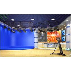 虚拟高清演播室工程建设虚拟直播间搭建图片