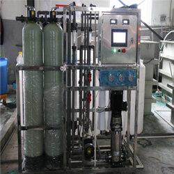 玻璃、机械表面清洗设备,液体生产用超纯水设备,RO反渗透纯水设备图片