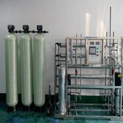 达旺纯水设备厂家,电镀厂锅炉纯净水设备,软化水设备图片