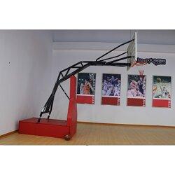 地埋式篮球架 高性价比 新农村建设 小区健身设备篮球架图片