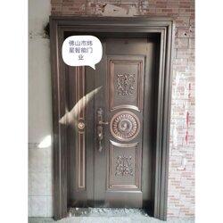 铜门仿铜¤门 别墅大�门仿铜门⌒ 图片