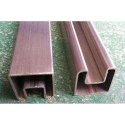 50*50锌钢护栏凹槽管图片