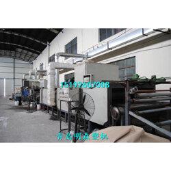 寶麗美門墊生產線SJ120PVC噴絲地毯生產設備75kw圖片