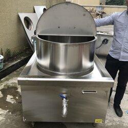 饭店25KW电磁熬羊肉汤锅 节能电磁煮豆浆锅定做图片