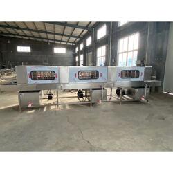 食品厂用肉食筐 蔬菜清洗机器 循环高压喷淋图片