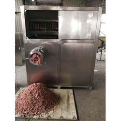 香肠制作用冻肉盘快速破碎机 食品厂用快速冻盘绞肉机图片