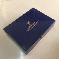 北京实木茶叶木盒定做 实木茶叶木盒加工图片