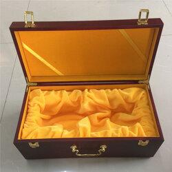 红酒礼品木盒的制作-红酒礼品木盒加工厂家图片