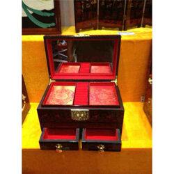 北京怀柔木质茶叶包装盒定制-茶叶木盒厂图片