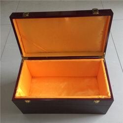 银碗木盒订制-银碗木盒加工厂家图片