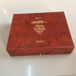 木质白酒木盒厂-木质白酒木盒制造图片