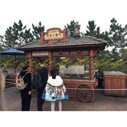 游乐园贩卖花车,景区移动小卖部,夜市美食广场售卖亭图片