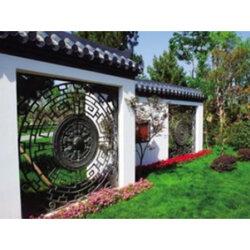 景观庭院花格-上海景观庭院花格-山东走廊花格隔断图片