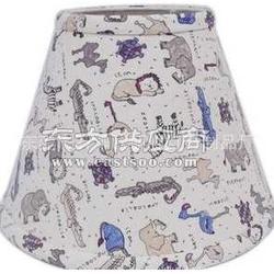 卡通动物图案布灯罩图片