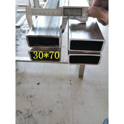 304不锈钢方管10*90*1.5图片