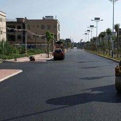 沥青混泥土施工厂家-专业承接道路沥青施工图片