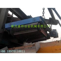 挂式除铁机-垃圾发电厂炉渣金属磁选机图片