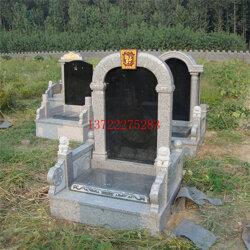 2020新款石雕墓碑,中国黑墓碑 花岗岩墓碑 定制石雕碑图片