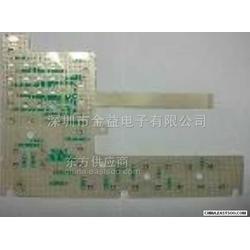数控薄膜开关按键软性线路图片