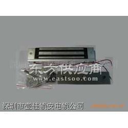 明装电磁锁 磁力锁 单门磁力锁 150KG磁力锁图片