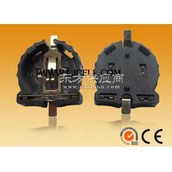 CR1220纽扣电池座(镀金、贴片)图片