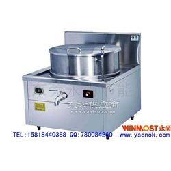 工厂食堂专用大型电磁炉、连体煲汤炉图片