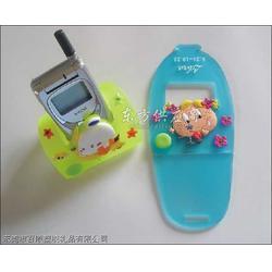 滴胶手机座,硅胶手机座,广告礼品手机座图片
