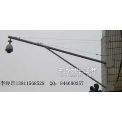 室外摄像机支臂监控杆悬臂抱箍支架定制便宜图片
