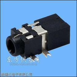 供应2.5/3.5mm耳机插座,耳机插座首选啟瑞达电子图片