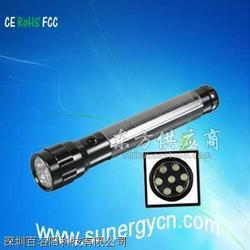 超高亮度太阳能手电筒图片