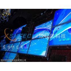 欣视美科技专业承接酒吧液晶拼接墙工程图片