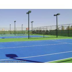 长远宏达体育专业承接网球场施工图片