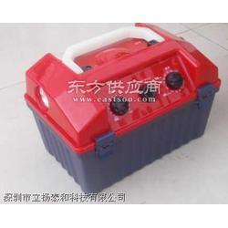 手摇应急工具箱,带收音机,照明,警笛,手机充电图片