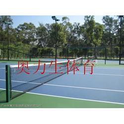 网球场工程固定式铝合金网球柱图片