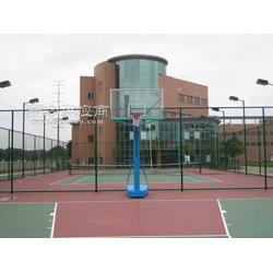 广贸大学篮球场网球场工程图片