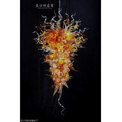 现代艺术彩绘玻璃吊灯灯具图片