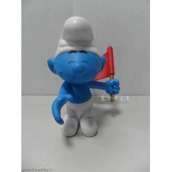 欧盟蓝精灵公仔模型加工图片