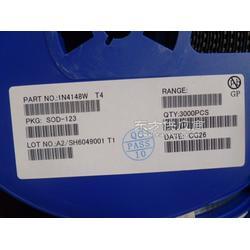 供应1N4148W SOD-123塑封开关二极管厂家现货图片
