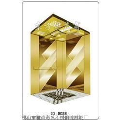 加工销售雅尚彩色不锈钢香槟金镜面蚀刻波浪形板图片