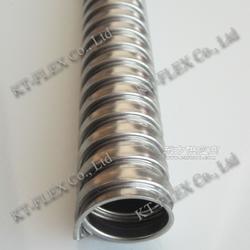 蛇皮管 穿线管螺旋软管 镀锌金属软管图片