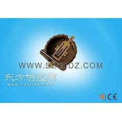 CR1220电池及座子CR1220-2贴片镀金图片