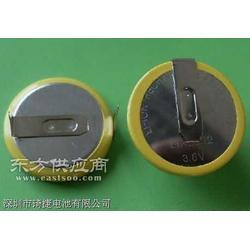供应可充电池LIR2032电子称插脚电池图片