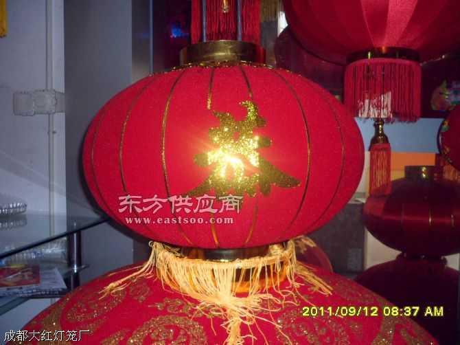 植絨金粉燈籠
