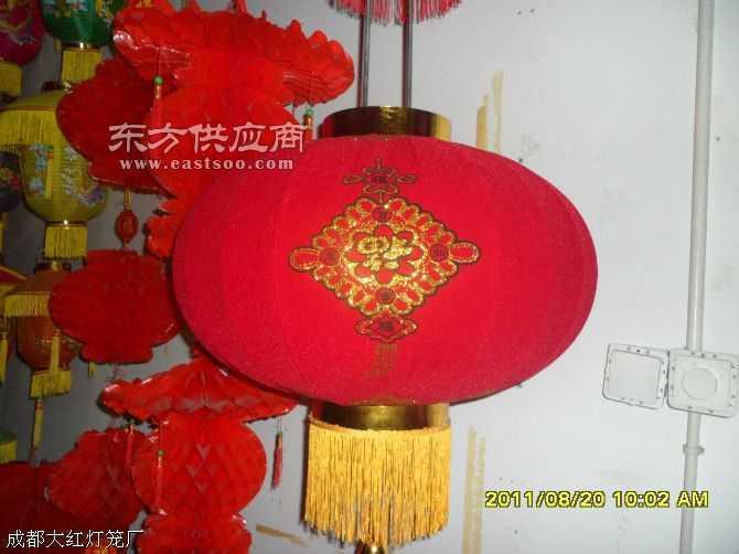 金粉植絨燈籠