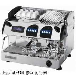 爱宝8003双头电控半自动咖啡机专卖 液晶显示图片